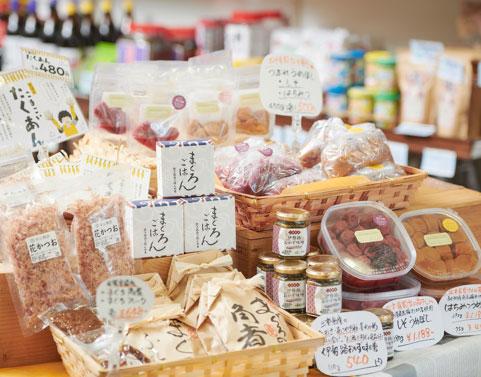 世古米穀店があつかう東紀州のご飯のお供(梅干し、鰹節、漬物など)