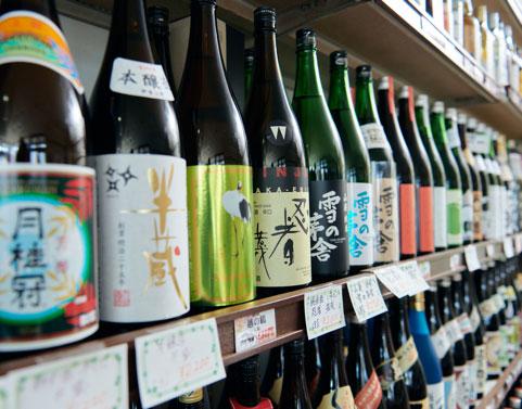 厳選した日本のお酒